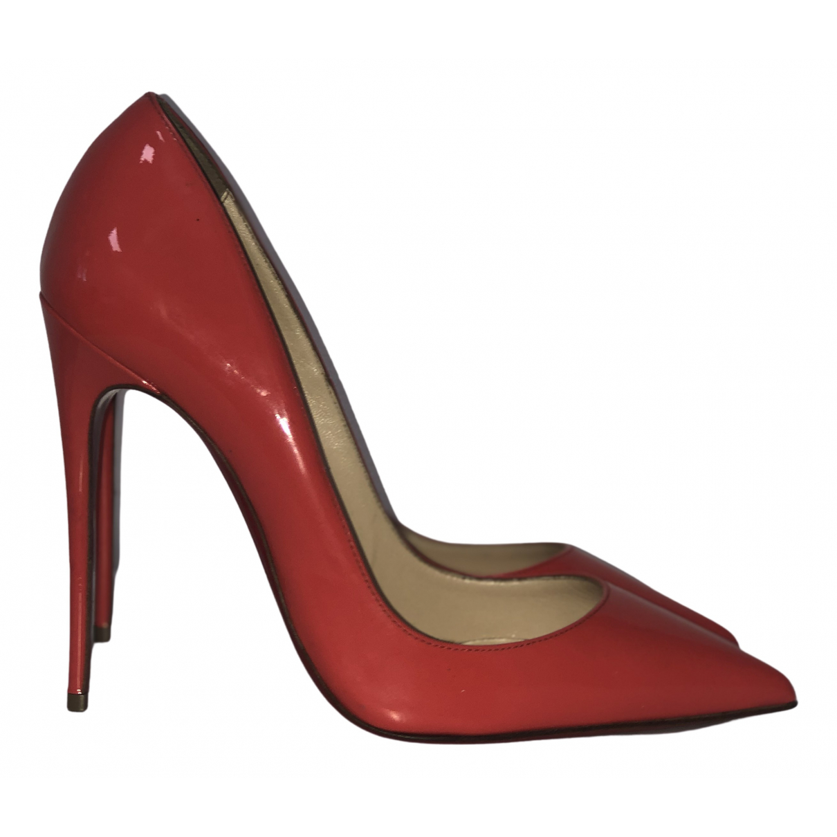 Christian Louboutin So Kate  Pumps in  Rosa Lackleder