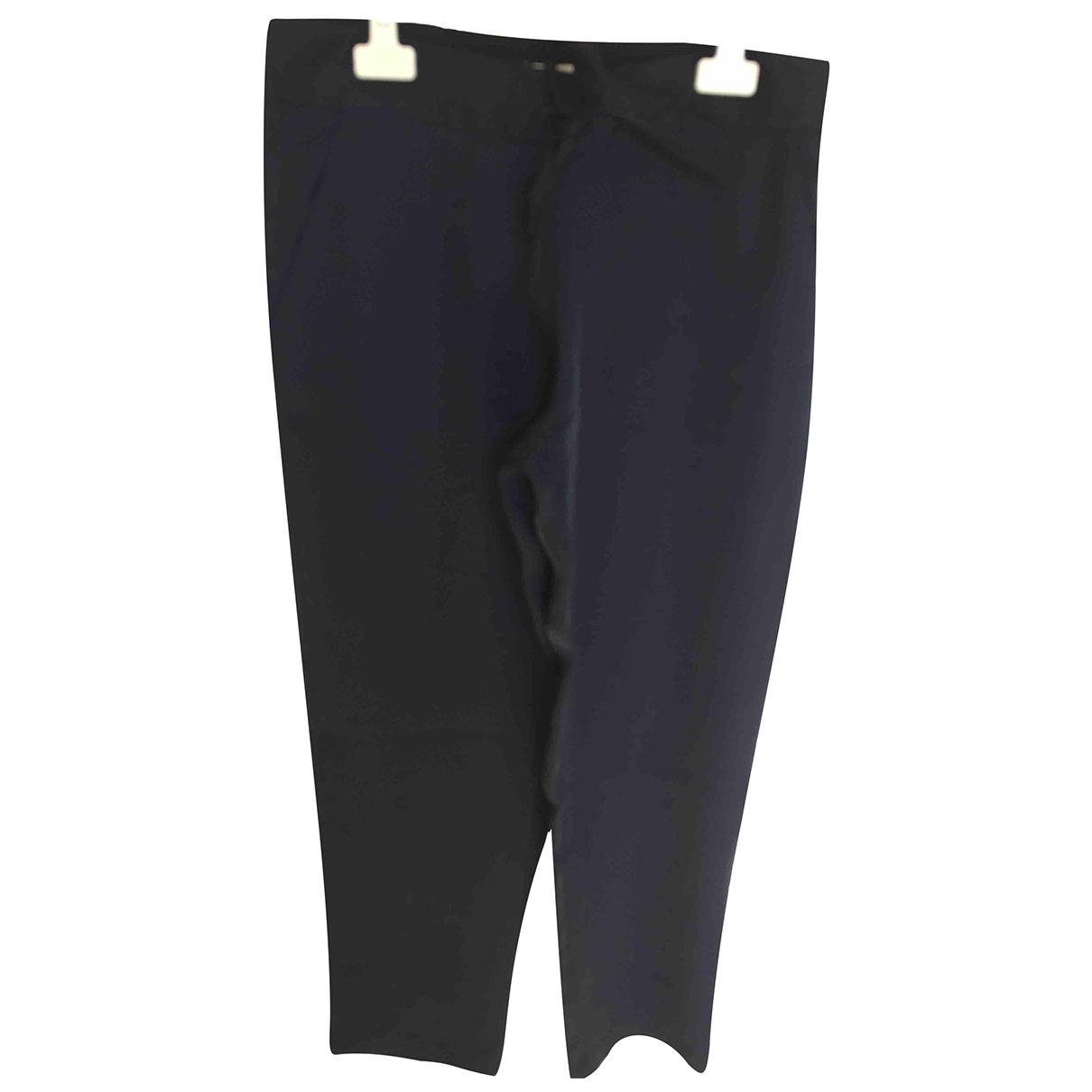 Adolfo Dominguez \N Blue Trousers for Women 36 FR