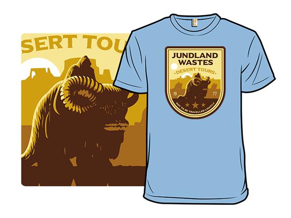 Desert Tours T Shirt
