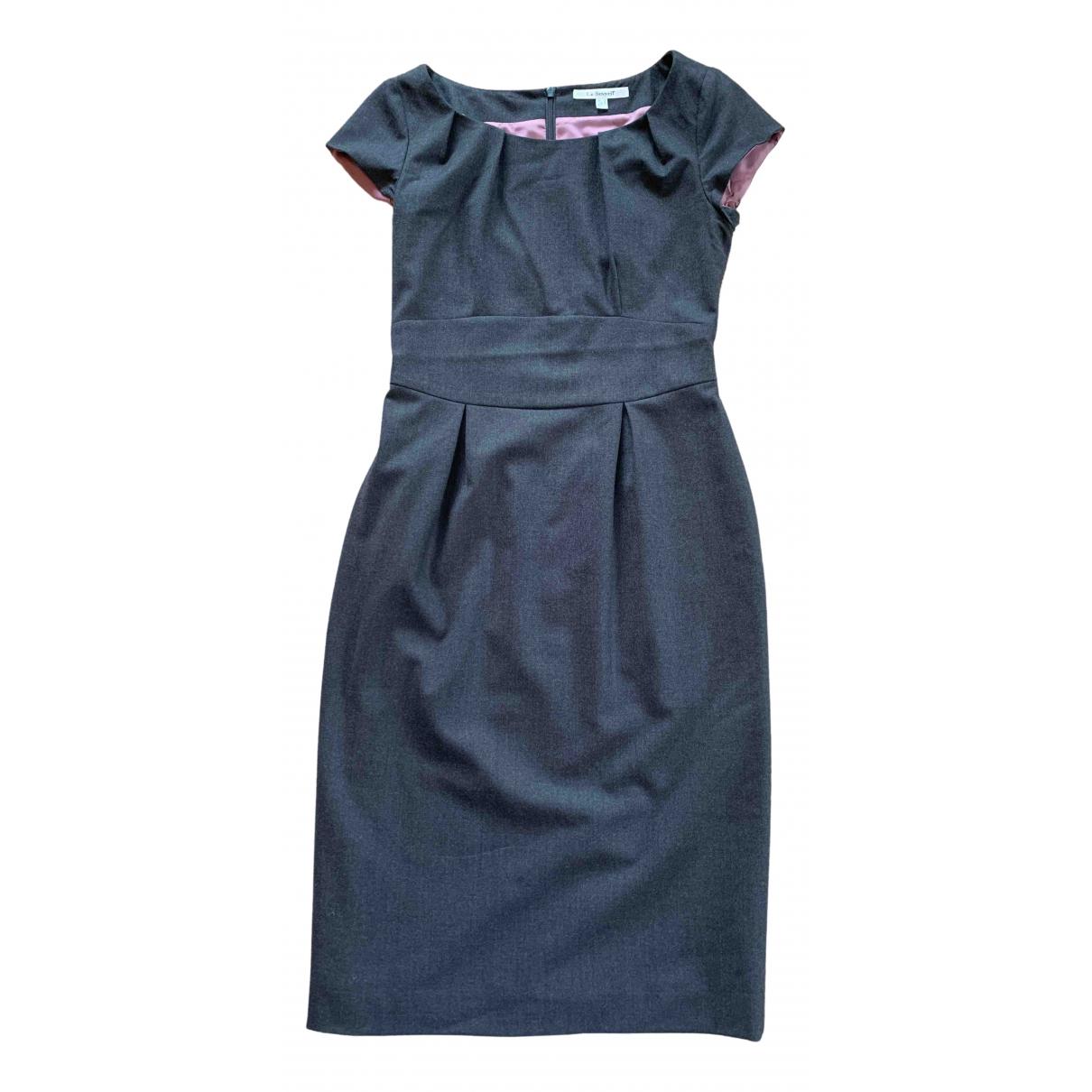 Lk Bennett \N Grey Wool dress for Women 8 UK