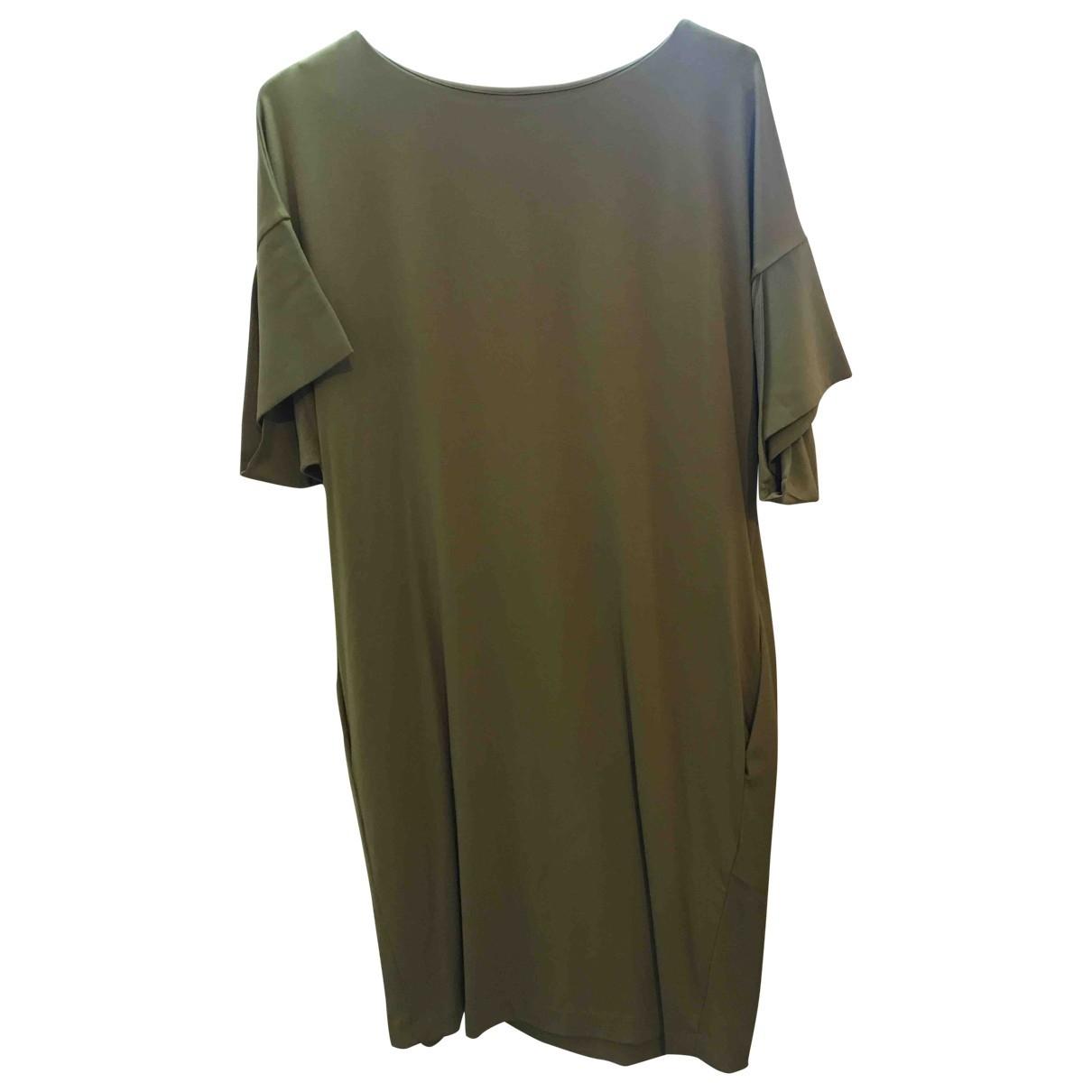 Cos - Robe   pour femme en coton - kaki