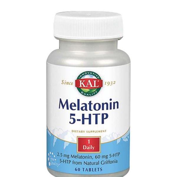 Melatonin 5-HTP 60 Tabs by Kal