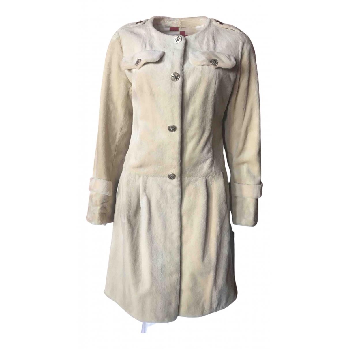 Guy Laroche - Manteau   pour femme en vison - beige