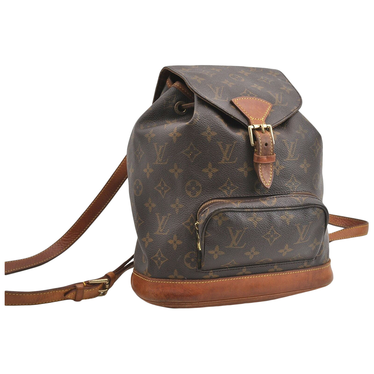 Louis Vuitton N Brown Cloth backpack for Women N