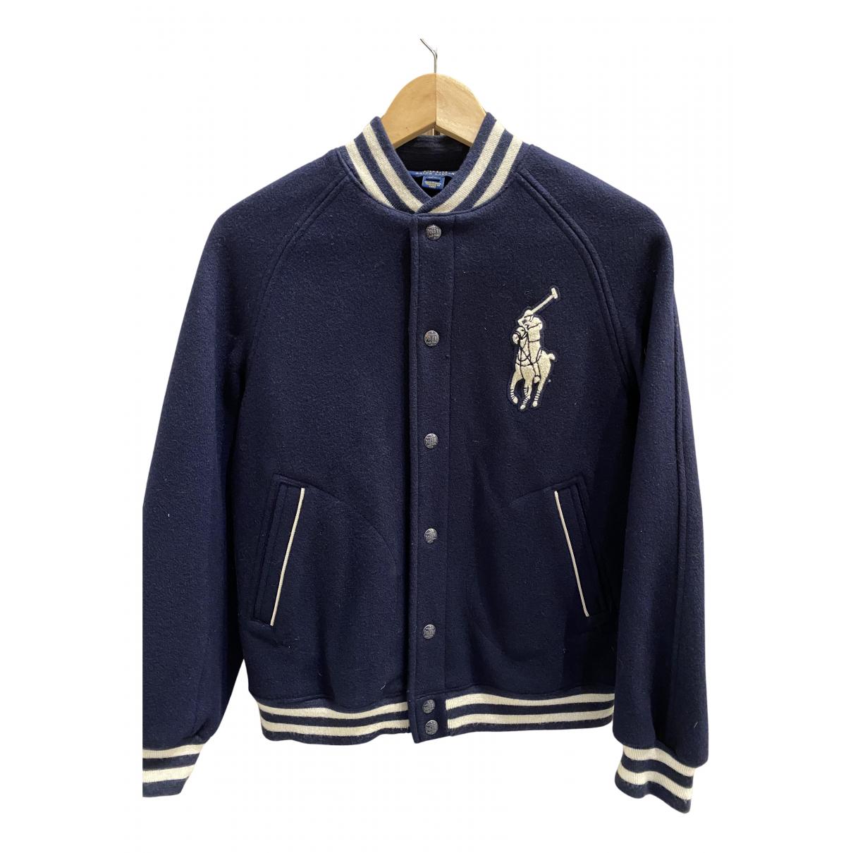 Polo Ralph Lauren - Blousons.Manteaux   pour enfant en laine - bleu