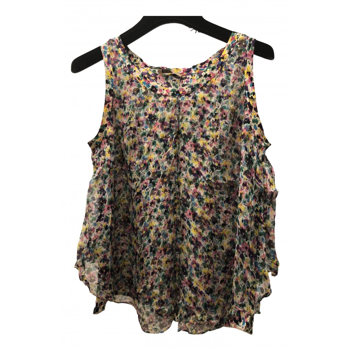 Nina Ricci \N Multicolour Silk  top for Women 36 FR