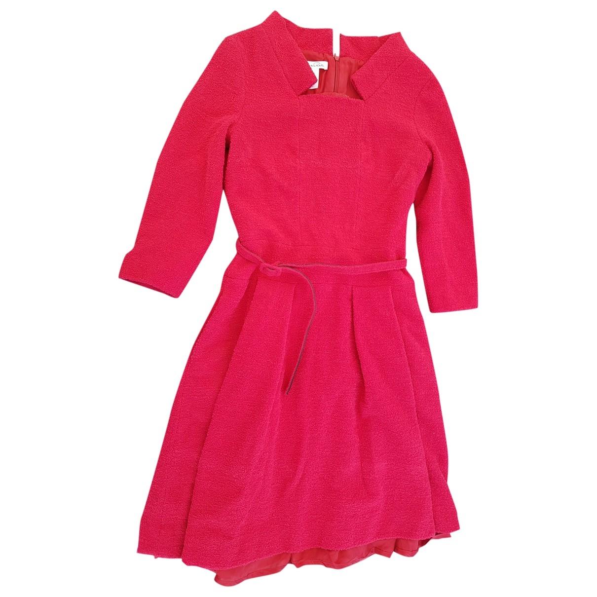 Oscar De La Renta \N Kleid in  Rot Wolle