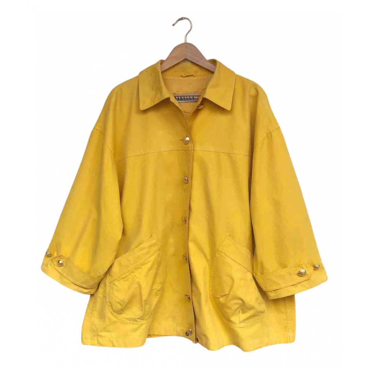Marella - Veste   pour femme en coton - jaune