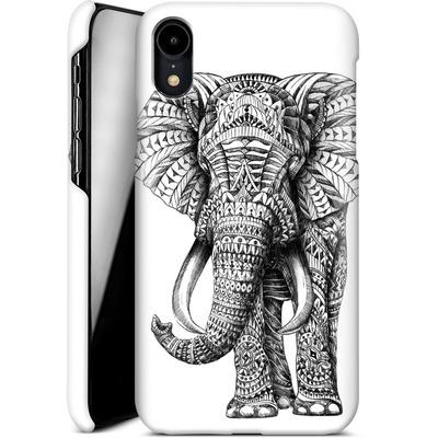 Apple iPhone XR Smartphone Huelle - Ornate Elephant von BIOWORKZ