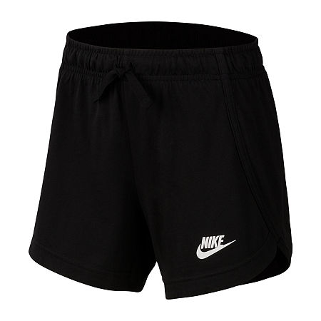 Nike Big Girls Pull-On Short, X-large , Black