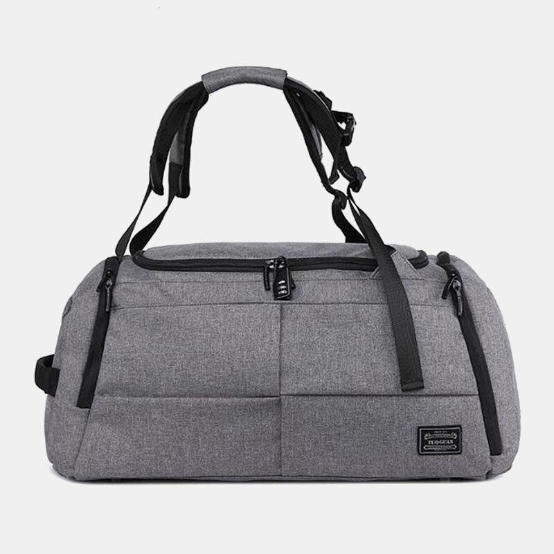 Men Travel Sport Multifunction Backpack Crossbody Bag
