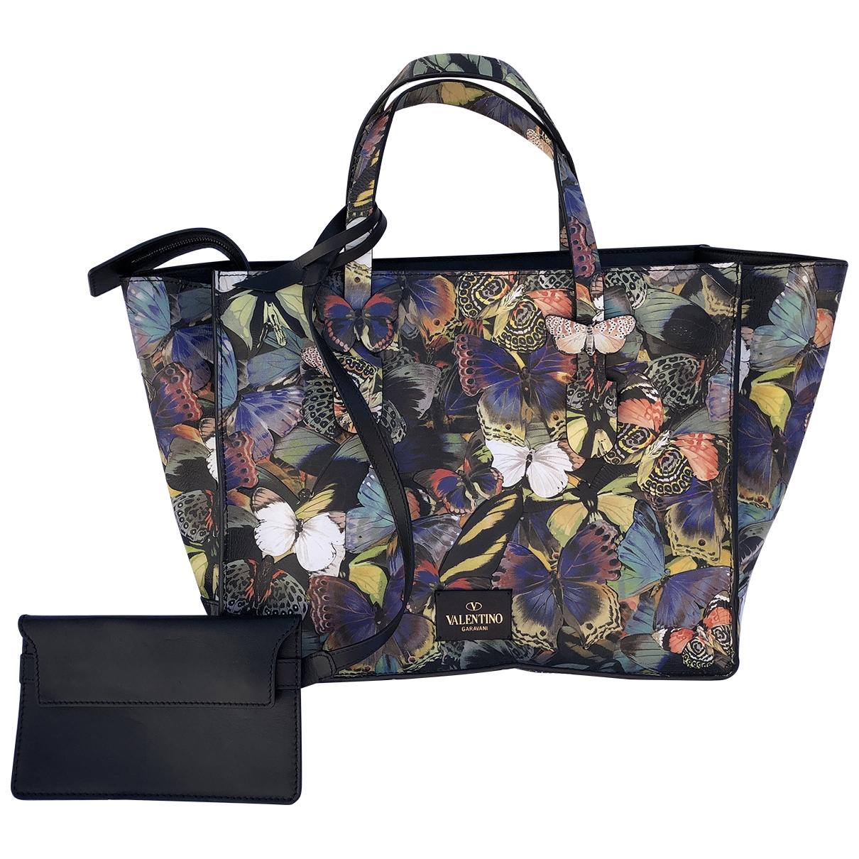 Valentino Garavani \N Multicolour Leather handbag for Women \N