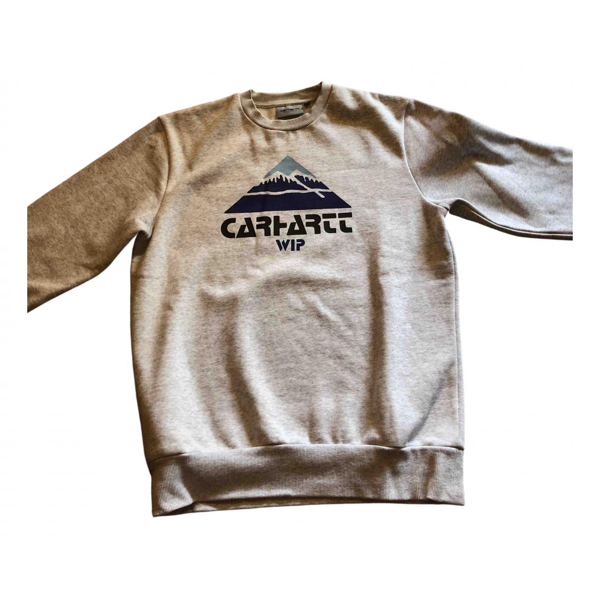 Carhartt - Pull   pour enfant en coton - gris