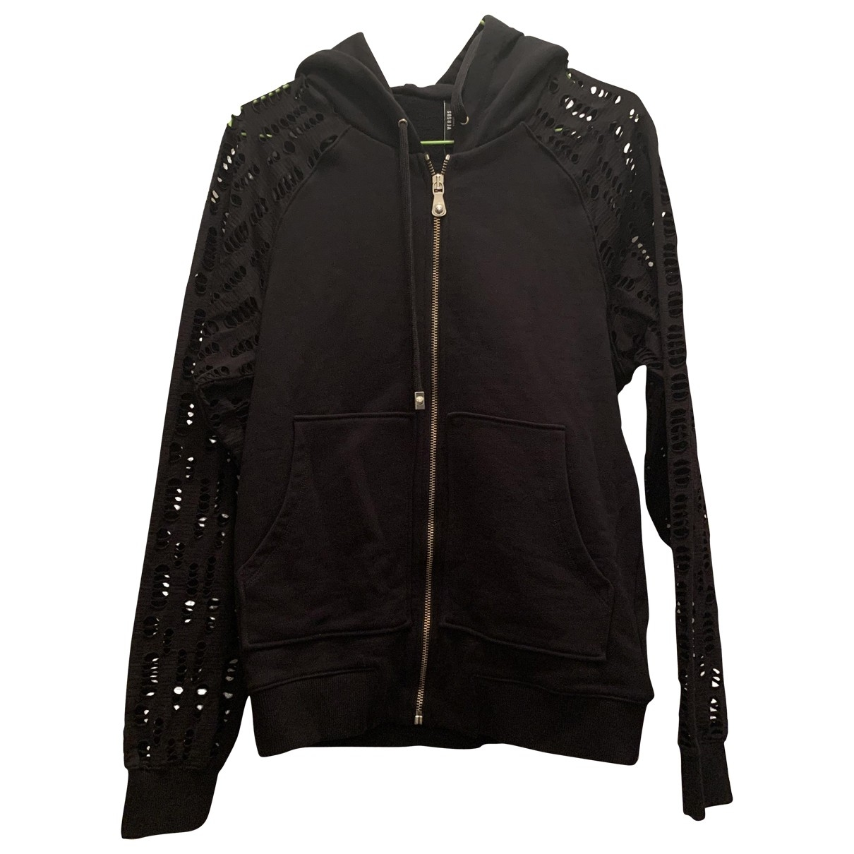 Versus \N Black Cotton jacket for Women S International