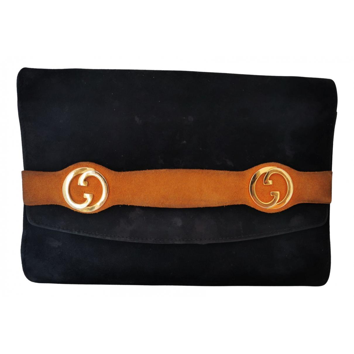 Bolsos clutch en Ante Azul Gucci