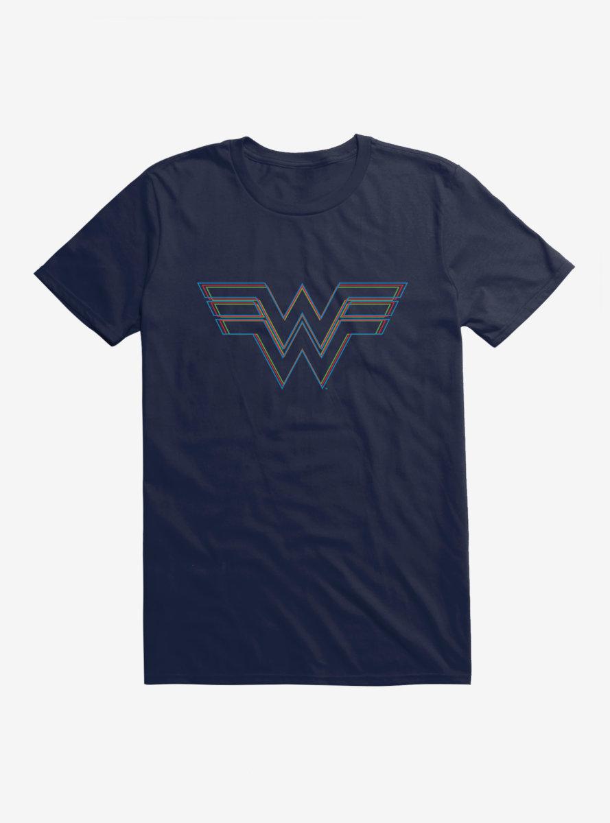 DC Comics Wonder Woman 1984 Linear Logo T-Shirt