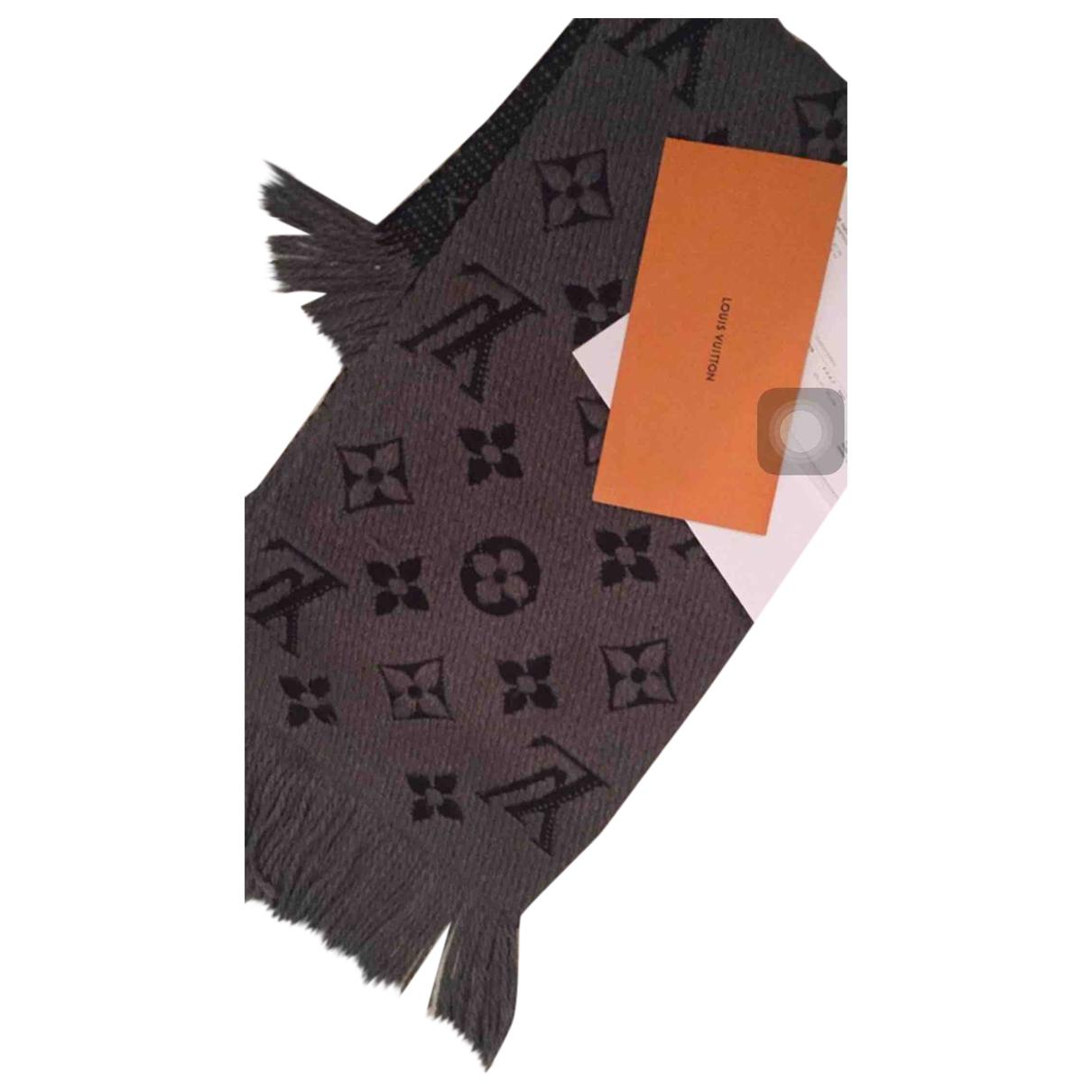 Bufanda Logomania de Seda Louis Vuitton