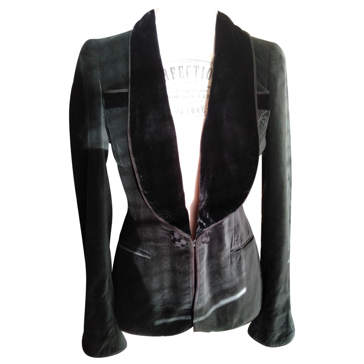 Carolina Herrera N Green Velvet jacket for Women S International