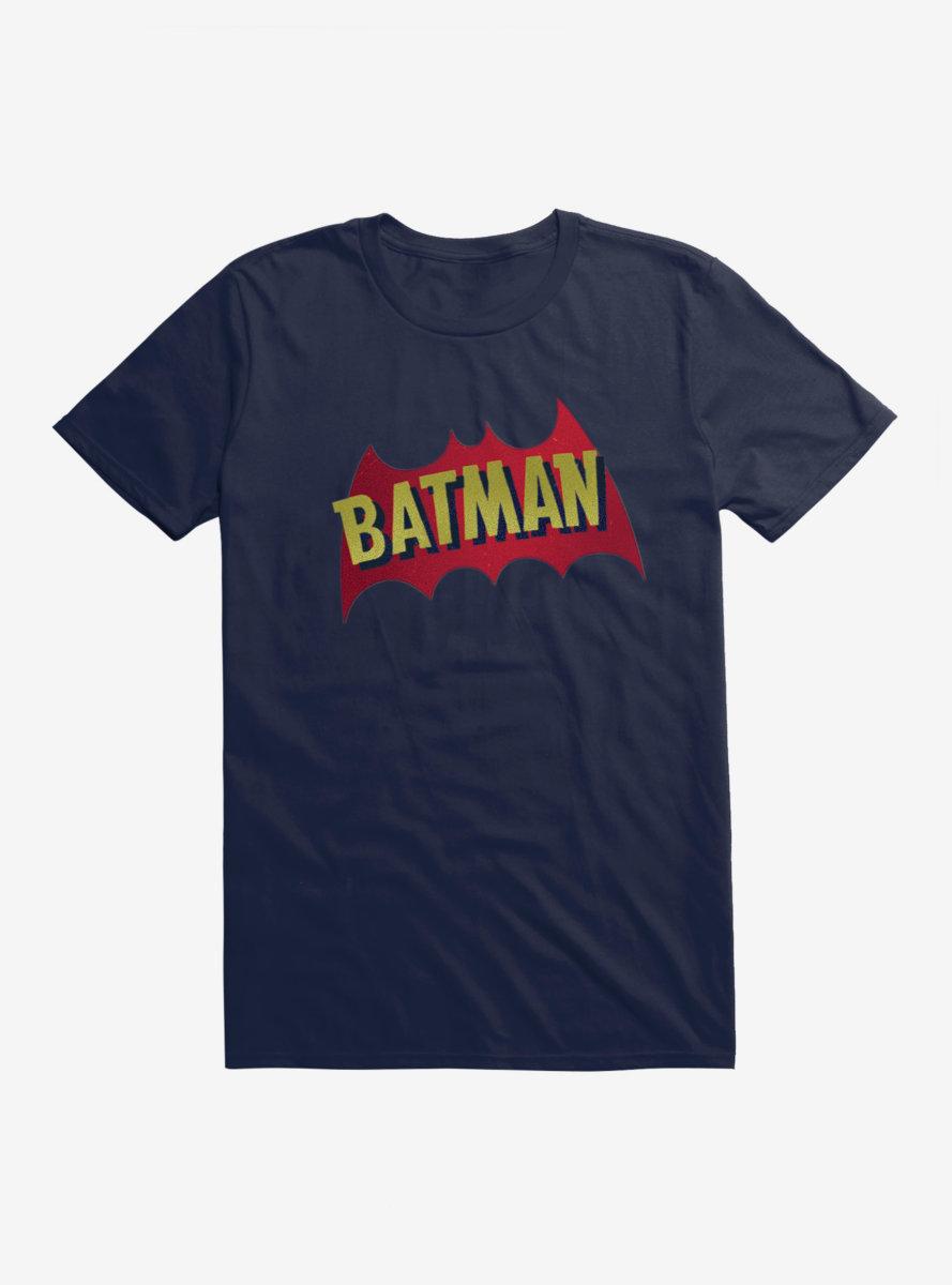DC Comics Batman Name And Bat Logo T-Shirt