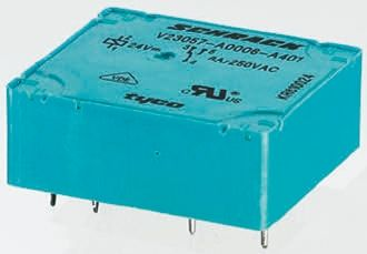 TE Connectivity , 6V dc Coil Non-Latching Relay SPDT, 5A Switching Current PCB Mount Single Pole