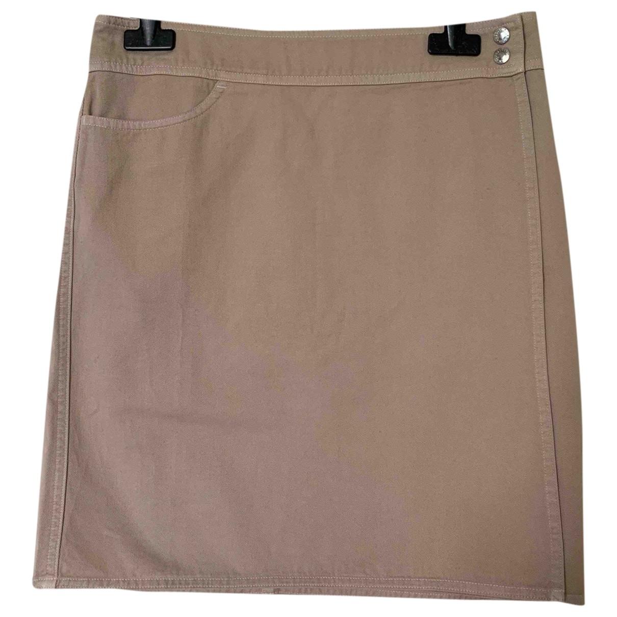 Dolce & Gabbana - Jupe   pour femme en coton - beige
