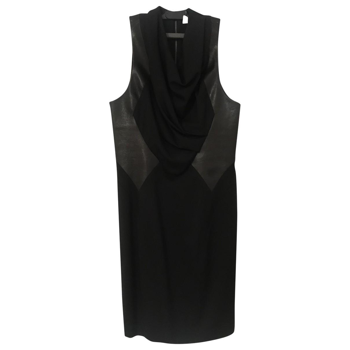 Mini vestido de Lana Helmut Lang