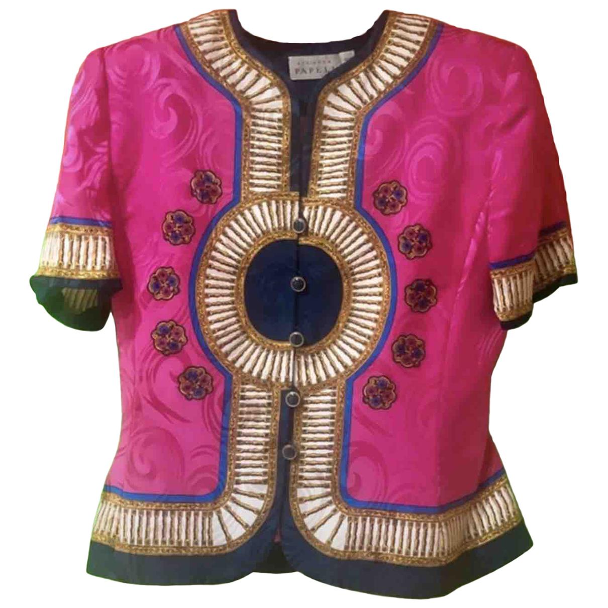 Autre Marque N Multicolour Silk jacket for Women 38 FR