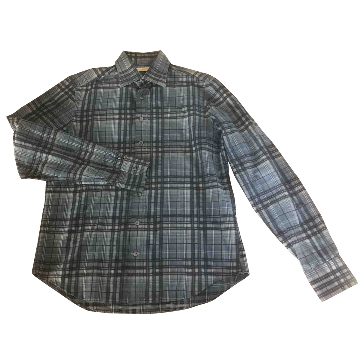 Burberry \N Hemden in  Grau Baumwolle