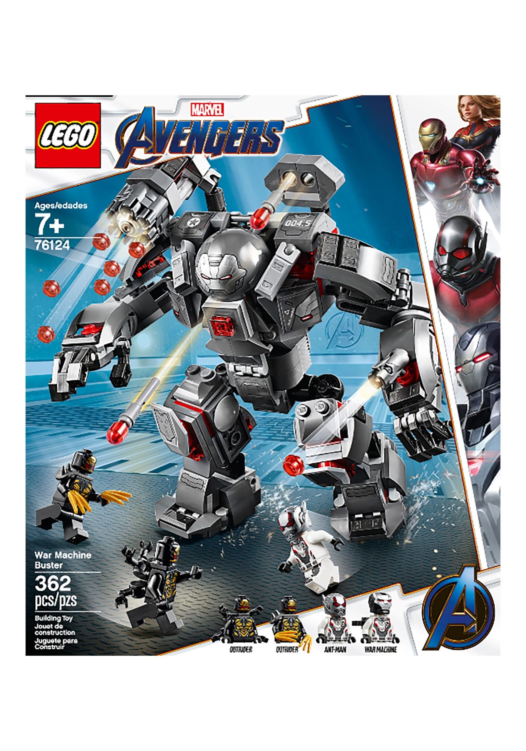 War Machine Buster LEGO Avengers