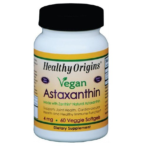 Astaxanthin 60 Veg Softgels  by Healthy Origins