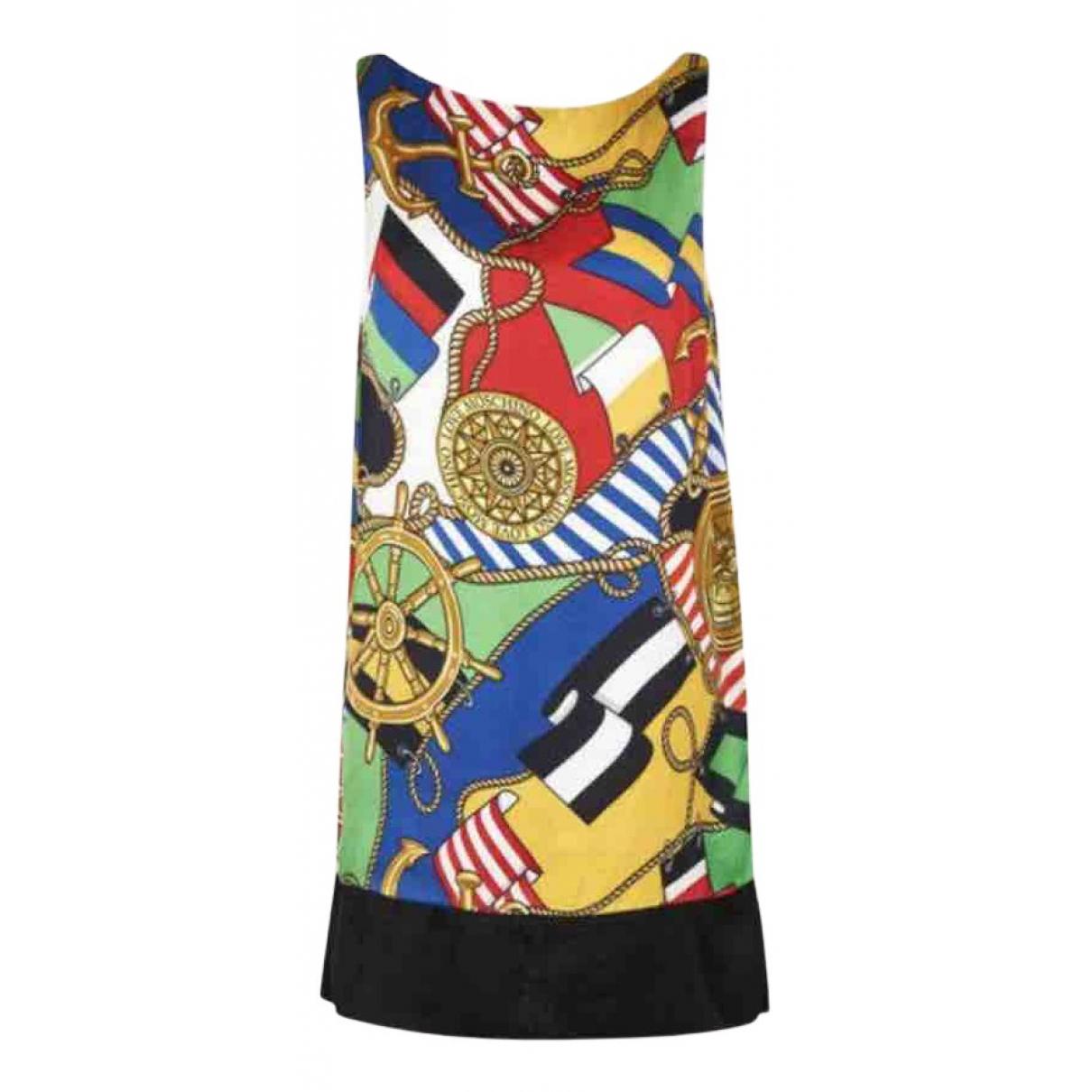 Moschino Love \N Kleid in  Bunt Viskose