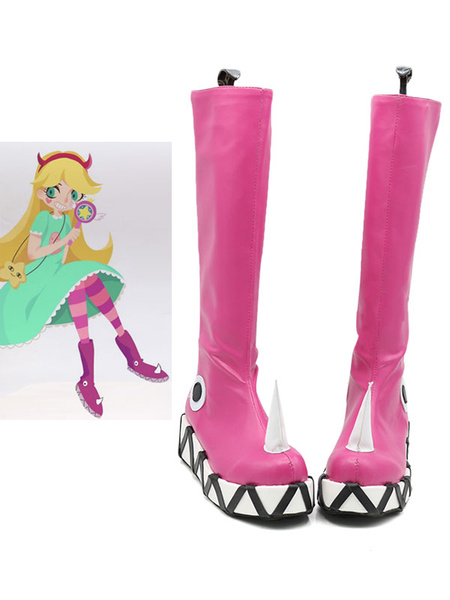 Milanoo Star Vs The Forces Of Evil Star Butterfly Halloween Cosplay Shoes