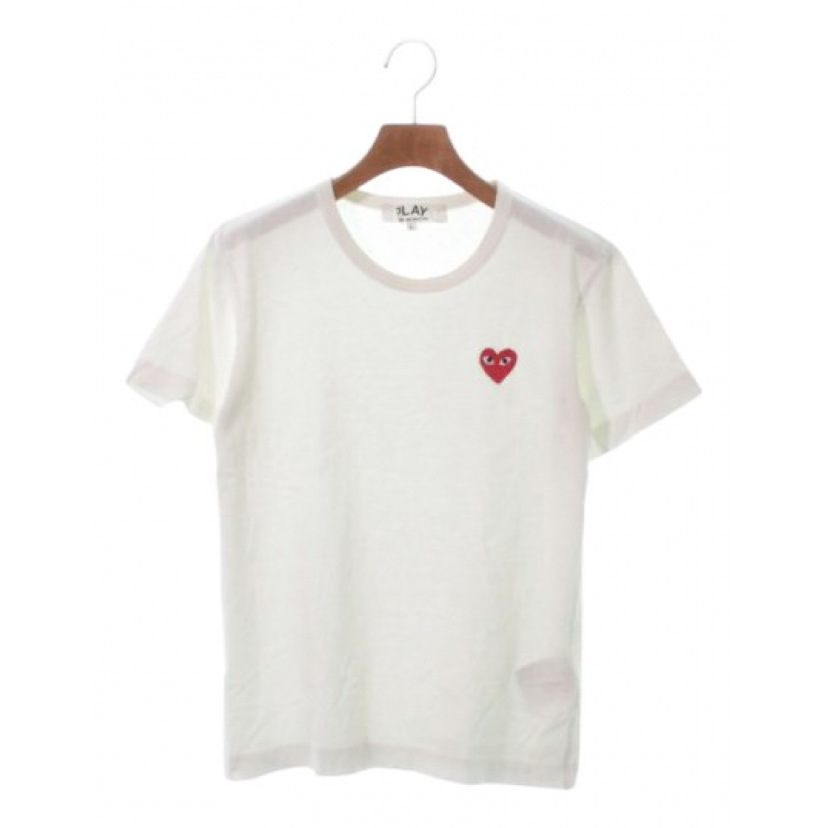 Play Comme Des Garçons N White Cotton  top for Women L International