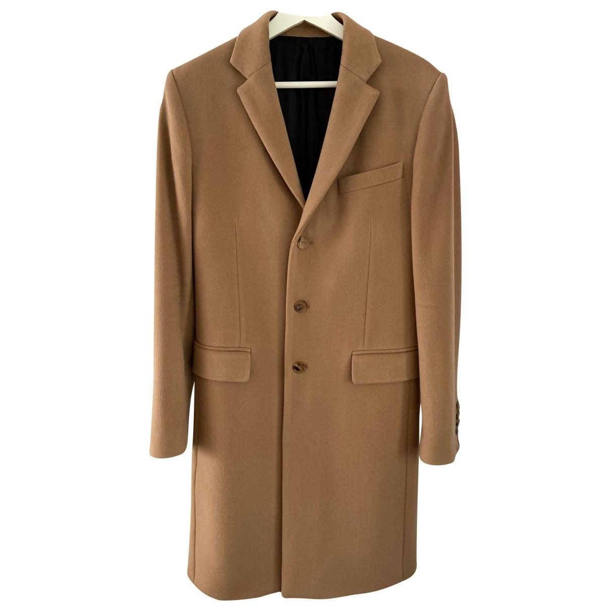 Givenchy - Manteau   pour homme en laine - camel