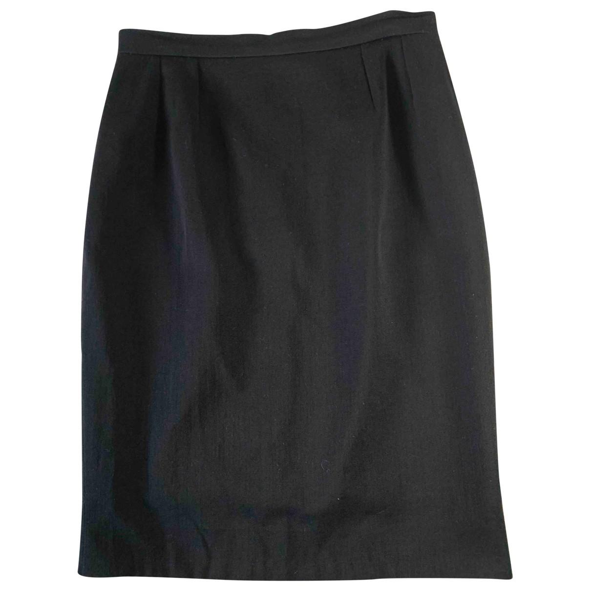 Chanel \N Black Silk skirt for Women 40 FR