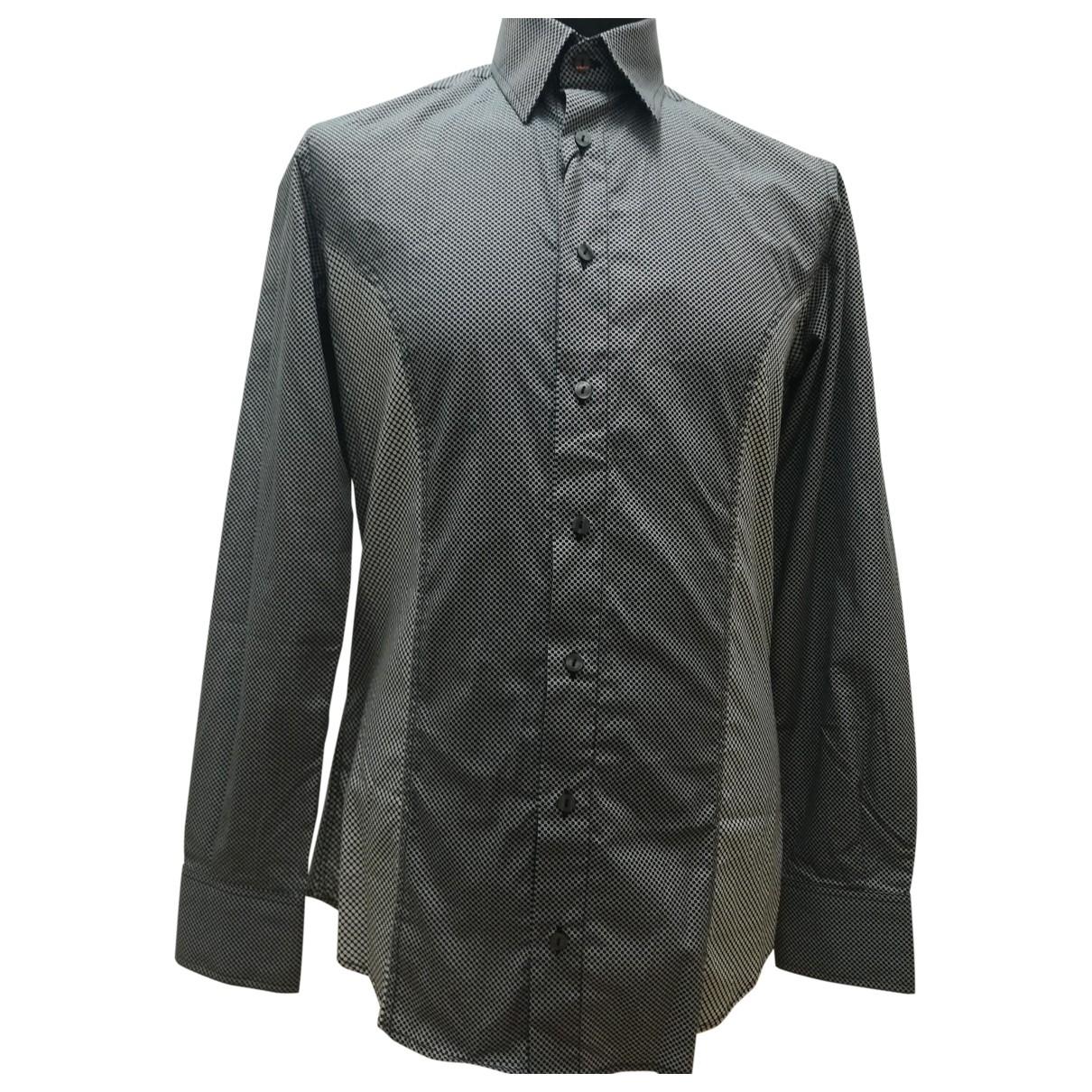 Karl \N Hemden in  Grau Baumwolle
