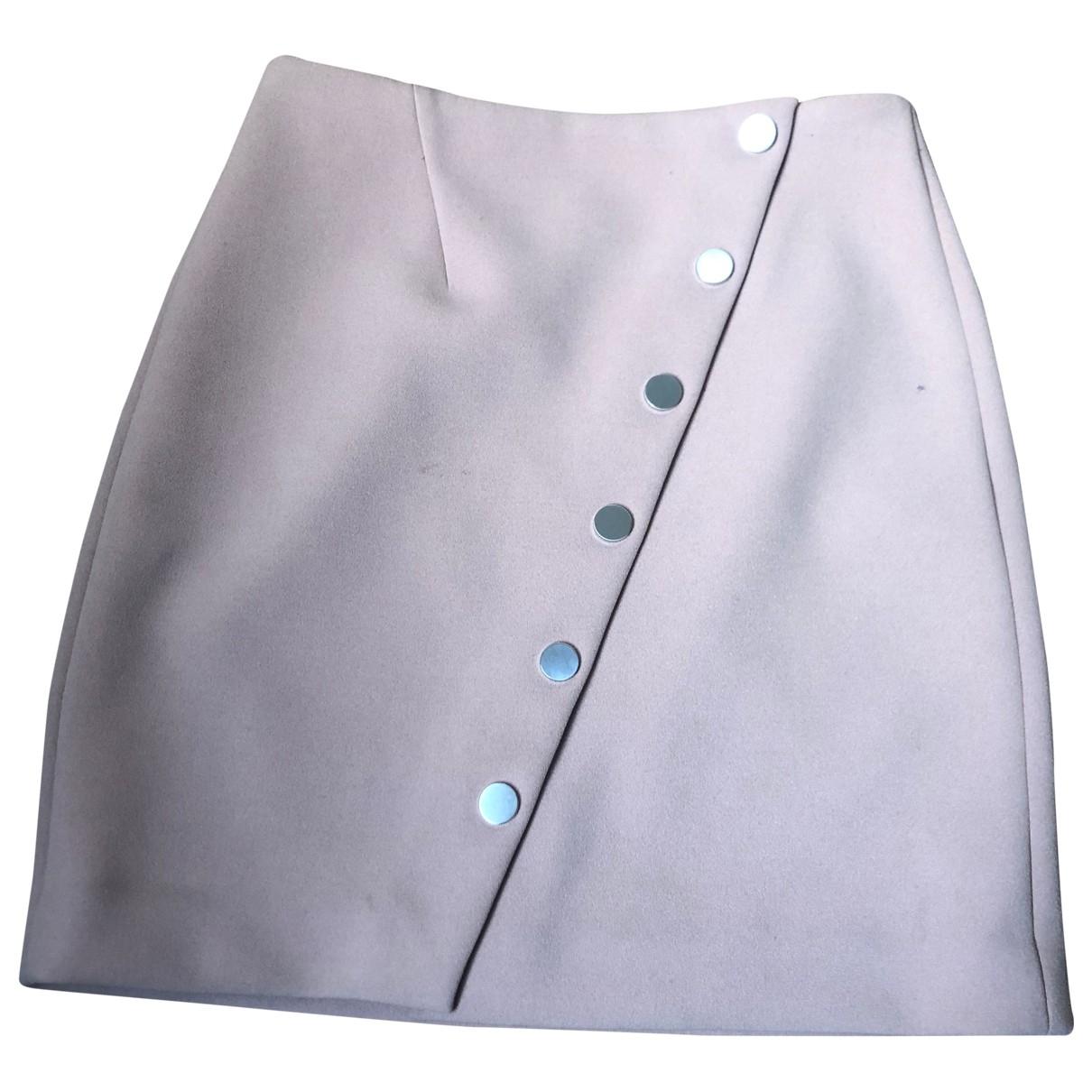 Maje \N Beige skirt for Women 36 FR