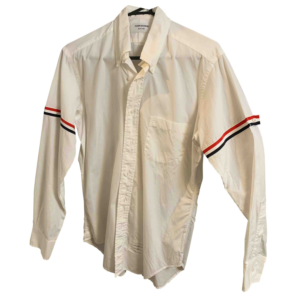 Thom Browne \N White Cotton Shirts for Men M International