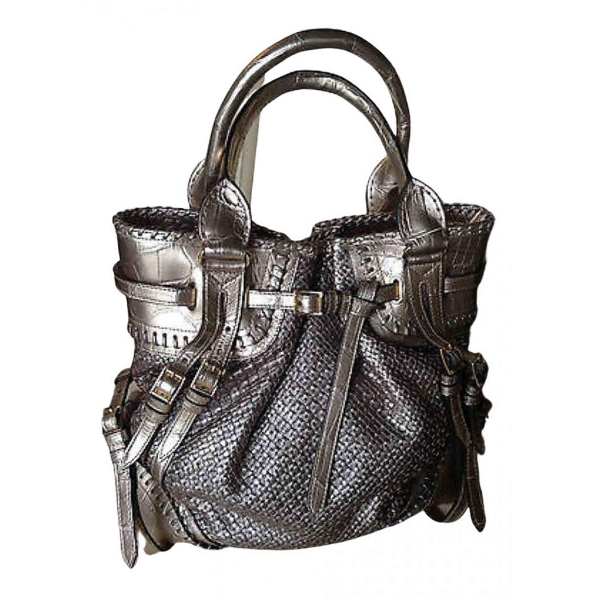 Burberry \N Handtasche in  Gold Aligator