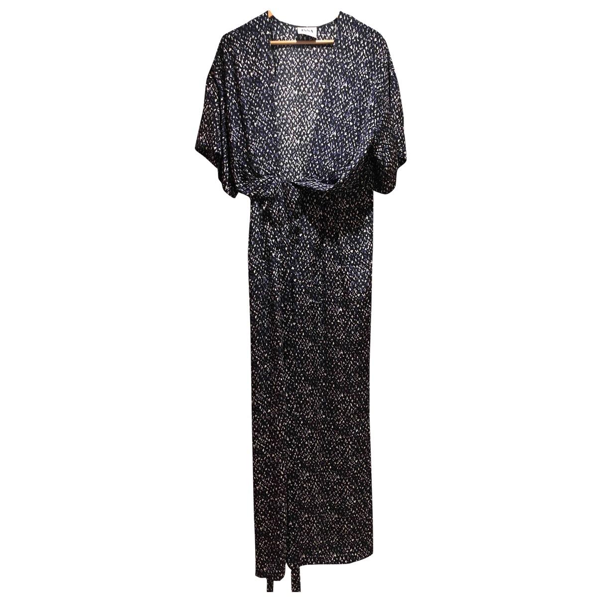 Issa - Combinaison   pour femme en soie - bleu