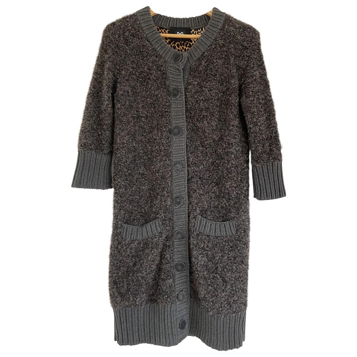 D&g - Pull   pour femme en laine - anthracite