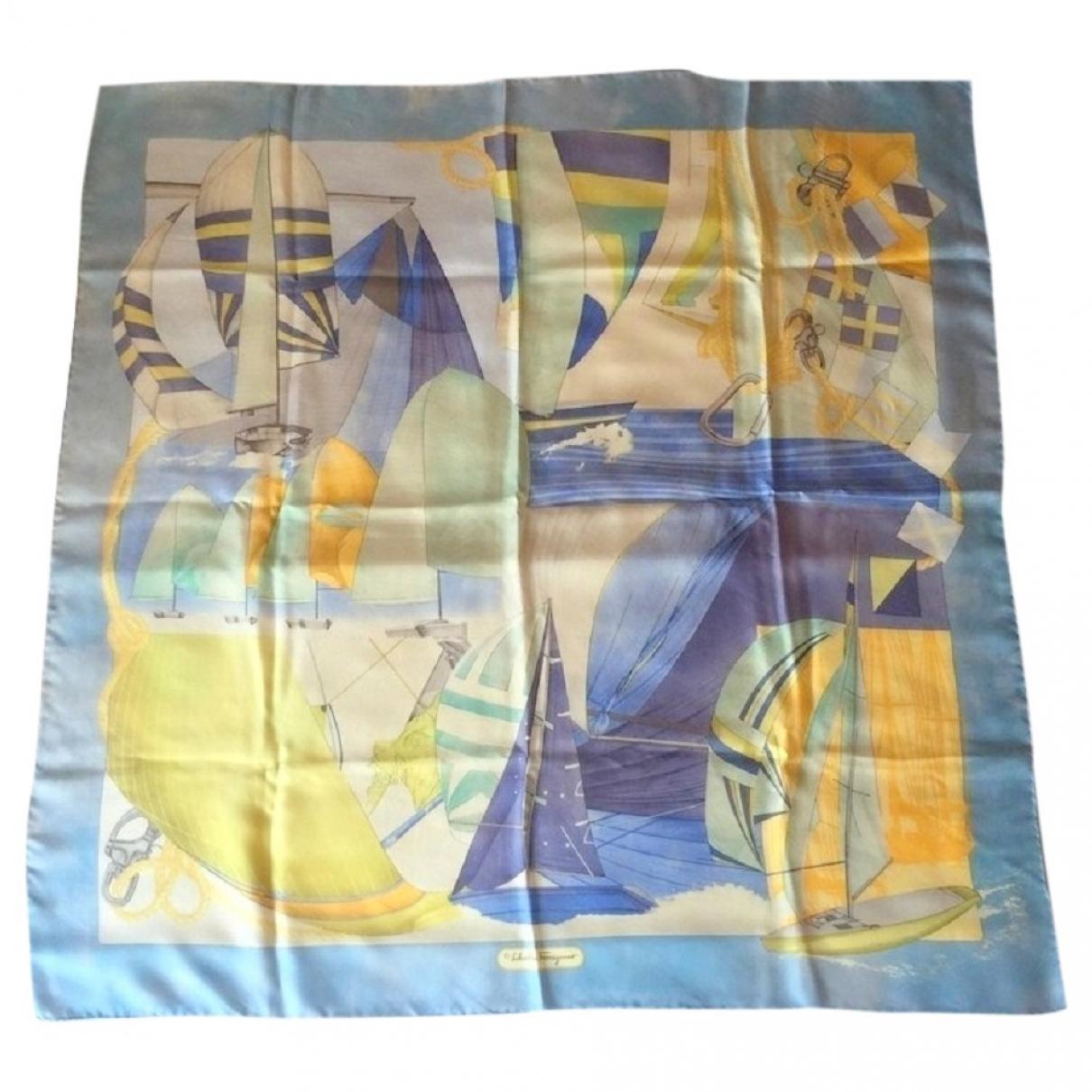 Salvatore Ferragamo \N Multicolour Silk scarf & pocket squares for Men \N