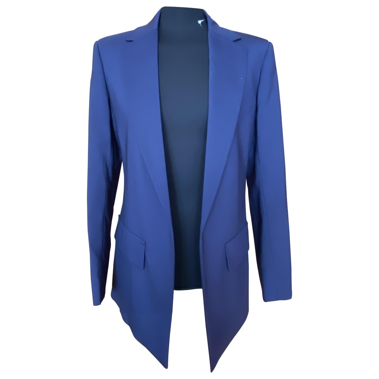 Sport Max \N Blue Wool jacket for Women 44 IT