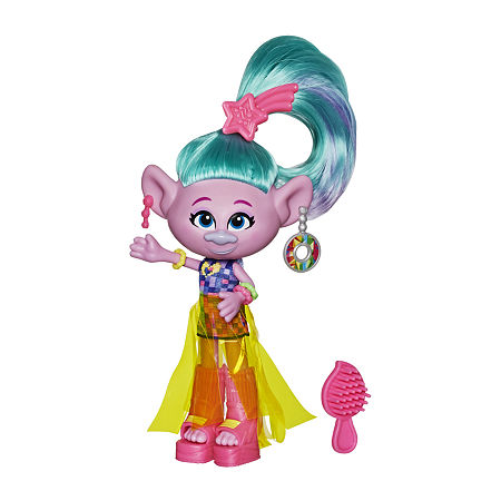 Trolls Glam Fashion Doll Assortment, One Size , No Color Family
