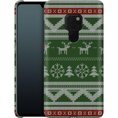 Huawei Mate 20 Smartphone Huelle - Norwegian Jumper Green von caseable Designs