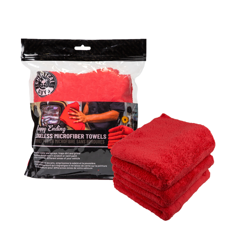 Happy Ending Towel For Car Wash 3 Pack | Chemical Guys