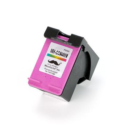 Remanufactur� HP 60XL CC644WN cartouche d'encre couleur haute capacit� - Moustache�