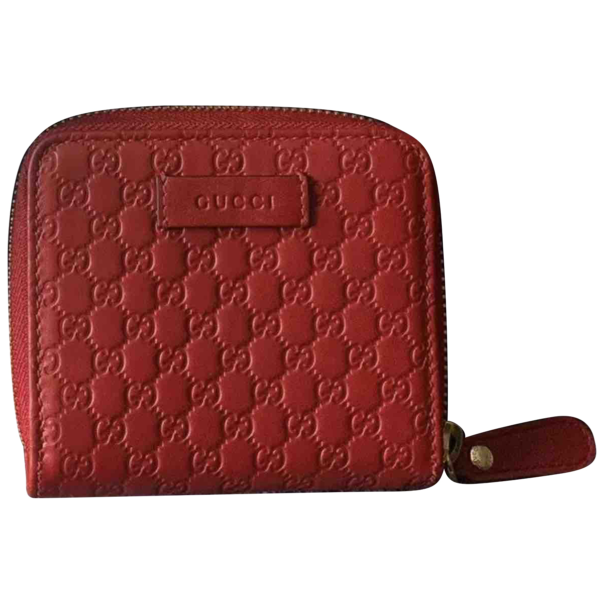 Gucci Continental Red Leather wallet for Women \N
