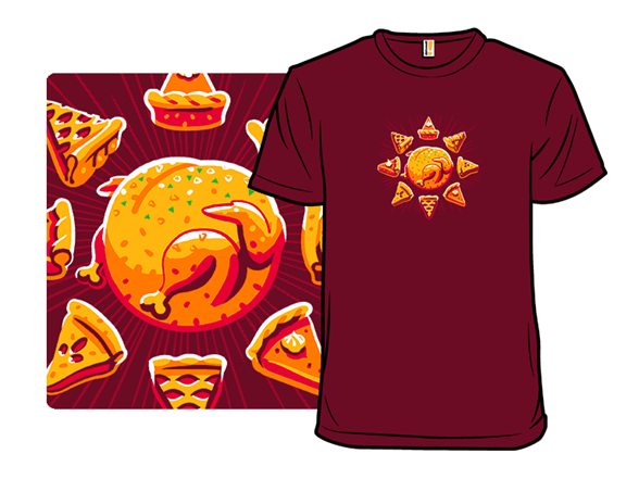Sunny With A Chance Of Leftovers T Shirt