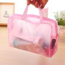 Flower Print Travel Storage Bag